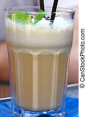 Coffee frappe - Cold coffee frappe