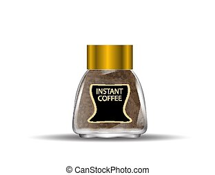 Instant coffee Vector Clipart EPS Images. 681 Instant ...