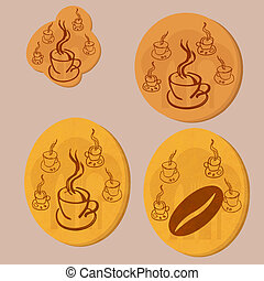 coffee gold coin