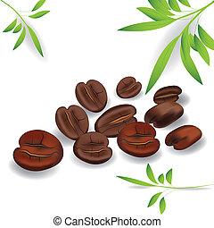 Coffee grain.