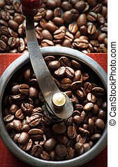 coffee grinder beans natural coffee beans