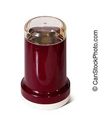 coffee-grinder on white background