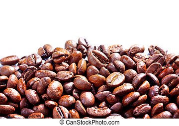 Coffee grunge background - Coffee background. Roasted coffee...