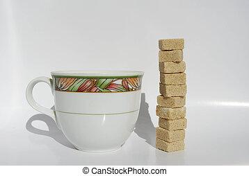 coffee high sugar