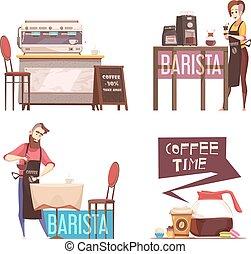 Coffee House 2x2 Design Concept