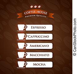 Coffee House Premium Quality menu