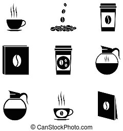 coffee icon set