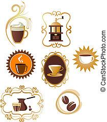 Coffee icons set - 4