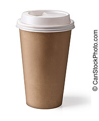coffee in thermo cup - Take-out coffee in thermo cup....