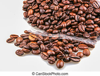 coffee isolated on white