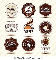 coffee label