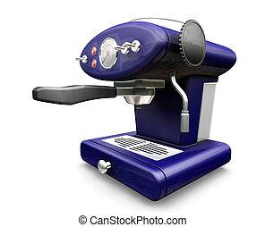 Coffee machine - 3D render of a coffee machine