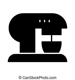 Coffee machine solid icon. Coffee maker vector illustration isolated on white. Appliance glyph style design, designed for web and app. Eps 10.