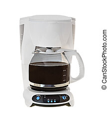 Coffee Maker - Coffee maker isolated on a white background