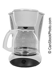 Coffee Maker - New coffee maker, isolated