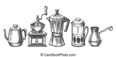 Coffee maker sketch