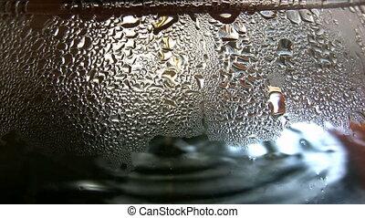 Coffee Maker - Close up of a Coffee machine making coffee