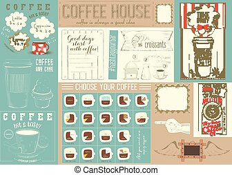 Coffee Menu Placemat Template - Coffee Menu Placemat Design....