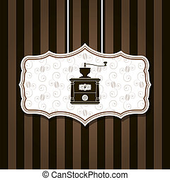 coffee mill background