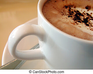 coffee mocha cup-interesting detail