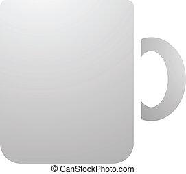 Coffee Mug Icon - Illustration of Coffee Mug Icon isolated...