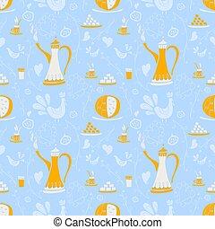 Coffee pattern Arabica