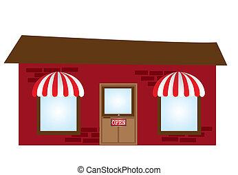 coffee place cartoon