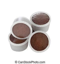 Coffee pods for espresso