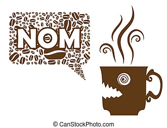 Coffee Says NOM