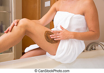 Coffee Scrub Thigh