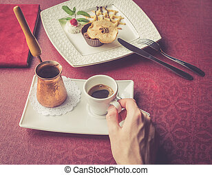 Coffee serve