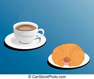coffee set vector design
