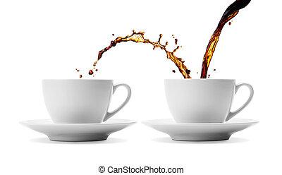coffee sharing