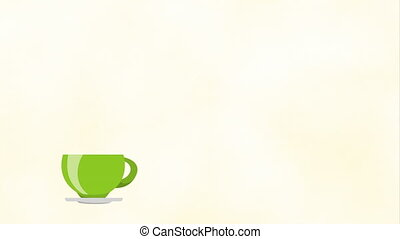 Coffee Shop background, Video Animation, HD1080