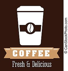 coffee shop design, vector illustration eps10 graphic