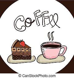 coffee shop design, vector illustration eps10 graphic