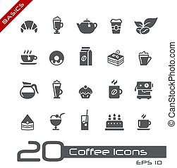Coffee Shop Icons // Basics