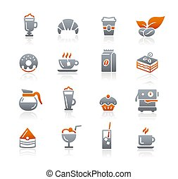 Coffee Shop Icons // Graphite Series