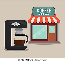 coffee shop machine coffee maker