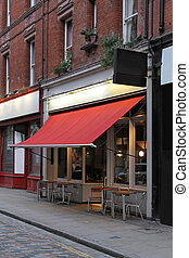 Traditional style coffee shop in central London