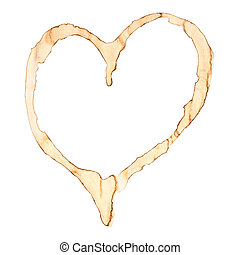 Coffee Stain Heart