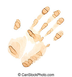 Coffee Stain Palm
