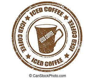 coffee-stamp, ghiacciato