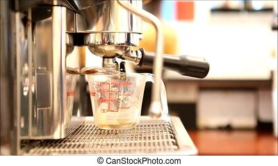 coffee - Espresso process