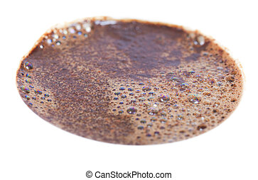 Coffee surface.