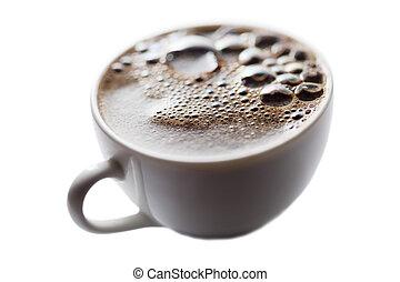 Coffee surface.