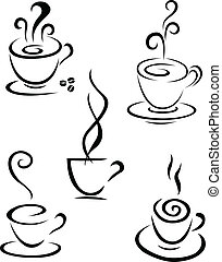 Coffee symbol collection