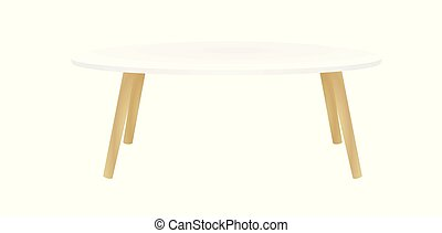 Coffee table. vector illustration