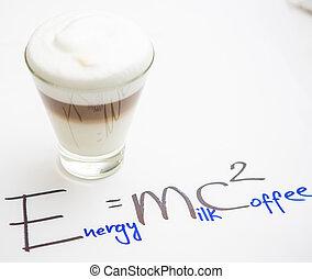 coffee., tasse à café, formule