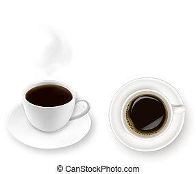 coffee., tasse